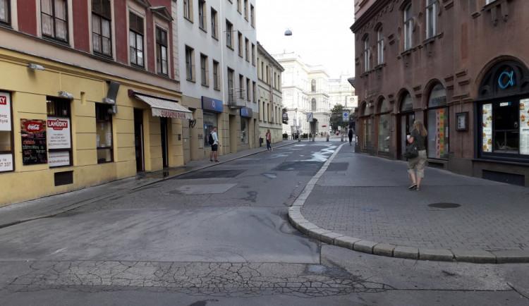 Od příštího týdne bude rozkopané i centrum Brna. Solniční a Opletalova dostanou novou kanalizaci a vodovod