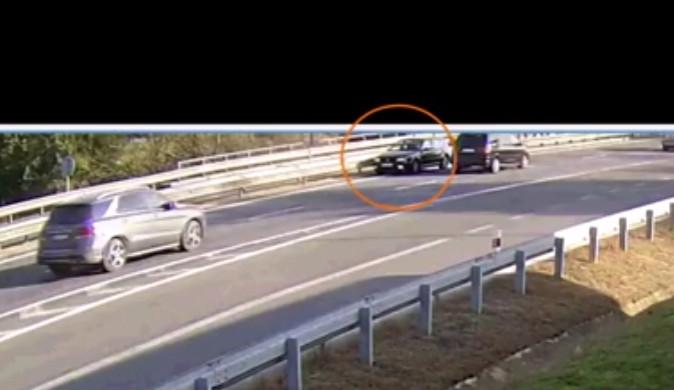 VIDEO: Zmatená řidička sjela z dálnice D1 na D46 do protisměru