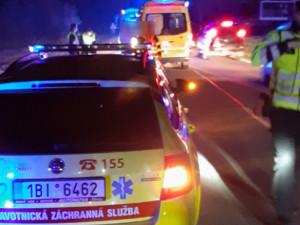 K nehodě došlo mezi obcemi Česká a Kuřim.