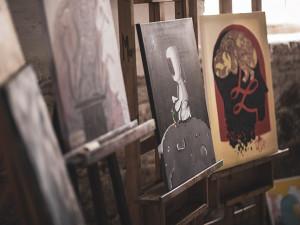 Obrazy k aukci