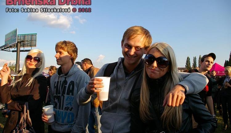 Festival doprovázelo krásné počasí, všichni se dobře bavili
