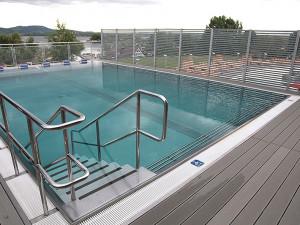 Bazén s mušovskou termální vodou - 46 stupňů Celsia