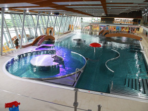Vnitřní bazény Neptunária