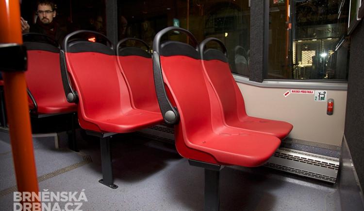 Brněnský dopravní podnik testuje nové typy sedadel, foto: Brněnská Drbna, Miroslav Toman