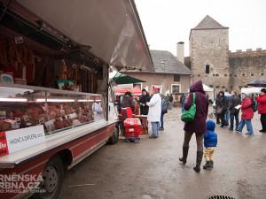 Slavnosti moravského uzeného na hradě Veveří, foto: Brněnská Drbnaa