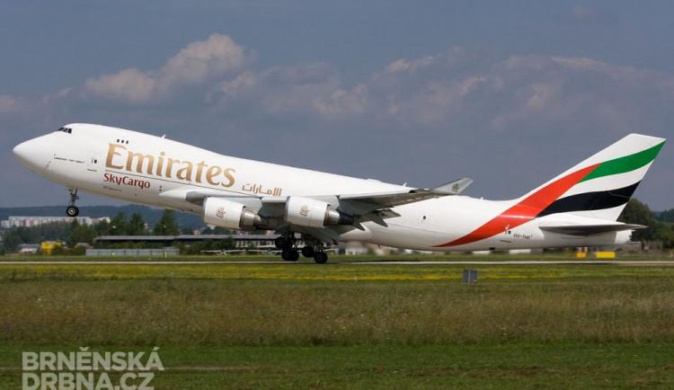 Boeing 747 létající u společnosti Emirates ze Spojených arabských emirátů, foto: Brněnská Drbna, Marek Vanžura