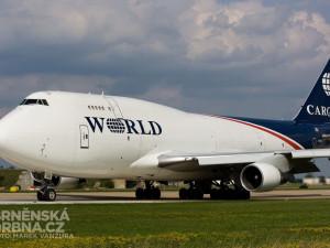Boeing 747 amerických World Airways, foto: Brněnská Drbna, Marek Vanžura