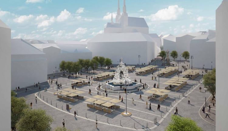 Vizualizace rekonstrukce Zelného trhu v Brně, vizualizace: Atelier RAW