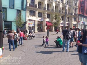 Z bublin měly největší radost děti, foto: Brněnská Drbna, David Zouhar