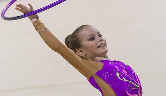 Brněnské moderní gymnastky vyhrály South Moravia Cup, foto: Brněnská Drbna, Miroslav Toman