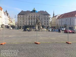 Na Zelném trhu začala rekonstrukce, foto: Brněnská Drbna, David Zouhar