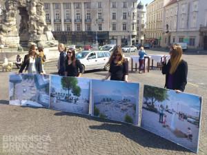Budoucí podoba Zelného trhu, foto: Brněnská Drbna, David Zouhar