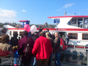 Lidé měli o plavbu lodí zájem, foto: Brněnská Drbna, David Zouhar