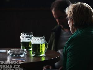 Zelený čtvrtek se Zeleným pivem, foto: Brněnská Drbna, Miroslav Toman