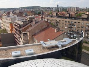 Výhled z hotelového pokoje, foto: Brněnská Drbna, Miroslav Toman