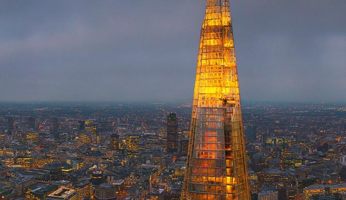 """Londýnský The Shard, tedy """"Střep"""" je nejlepší výškovou stavbou světa v roce 2013, foto: the-shard.com"""