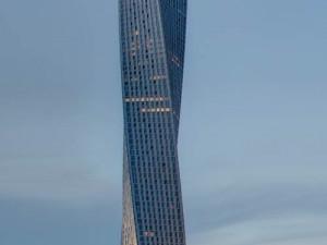 Cayan tower ve Spojených arabských emirátech, foto: Cayan.net