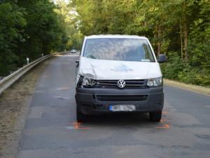 Tragická dopravní nehoda u Ivaně, foto: HZS JMK