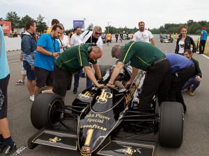 Formule 1 se vrátila na Masarykův okruh - ta historická, foto: Brněnská Drbna, Miroslav Toman