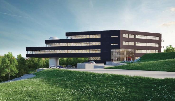 V kampusu v Bohunicích začala stavba Biology Parku, foto: Biology Park
