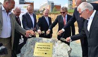 V kampusu v Bohunicích začala stavba Biology Parku, foto: Jihomoravský kraj