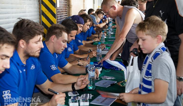 Autogramiáda hráčů HC Kometa, foto: Brněnská Drbna, Miroslav Toman