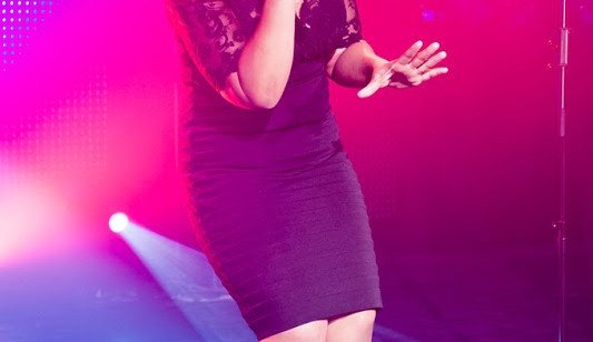 britská zpěvačka Nicol Lawrence
