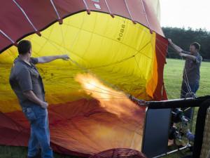 Let balónem aneb vzhůru do oblak a korun stromů