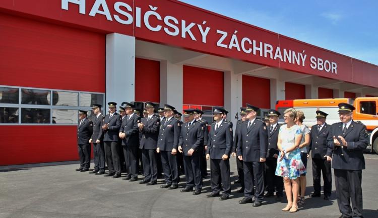Nová hasičská stanice ve Znojmě