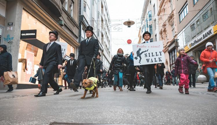 Silly Walk Brno 2019, Autor: Lucie Šiprová